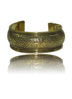 Etched Brass Kada