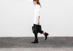 modern legacy fashion blog Australia Acne Studios knit sweater Jensen Chelsea boots Alexander Wang bag street style (4 of 6)