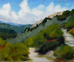 Up through the Olive Groves, St. Cezaire sur Siagne by Gail Wendorf �1250
