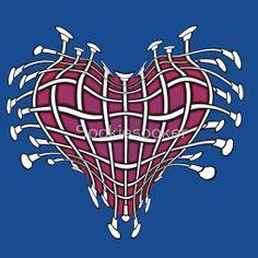 Twirling Baton Heart