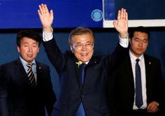 #world #news  South Korea's Moon takes presidency of divided nation amid North Korea tensions