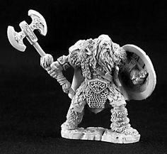 Dark Heaven Legends (Olaf, Viking Chieftain 3240) This Dark Heaven Legends model by Reaper comes unpainted and unassembled. Assembly and painting required. Any photos of painted miniatures are for dem