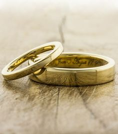 Wedding bands by Ken & Dana Design