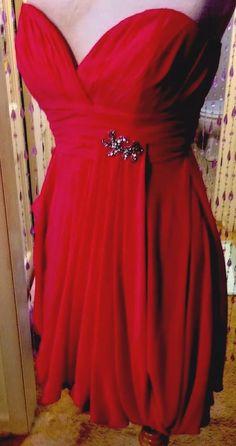 Lafee Jasmine Peony Social Occasion/Formal Dress With Brooch 4, Orig$250, New  | eBay