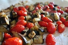 Something Yummy This Way Comes: Roasted Eggplant Pasta