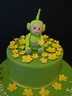 Teletubbie Cake by phillipascakes, via Flickr