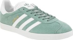 Adidas Green Gazelle Perf Suede Womens Trainers Born in the 60s, the adidas Gazelle has earned its (3) stripes as a true icon. Arriving for present day, the green suede upper features subtle cross Perforation and is joined with branded accents in w http://www.comparestoreprices.co.uk/january-2017-8/adidas-green-gazelle-perf-suede-womens-trainers.asp
