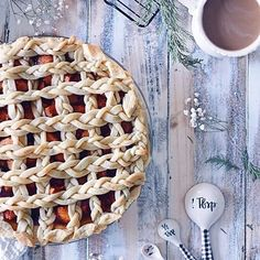 This is the first pie I've ever made and omgggg😍. Salted caramel apple pie!!! I'm sharing the amazing recipe by @wallfloweraimee. It's amazing you guys! Link on profile because there's too much to put here. #bestofvegan #thekindestplate #vegan    #Regram via @www.instagram.com/p/BcnEjrLnxqZ/ Salted Caramel Apple Pie, Vegan Treats, Deserts, Good Food, Profile, Bread, Guys, Amazing, Link
