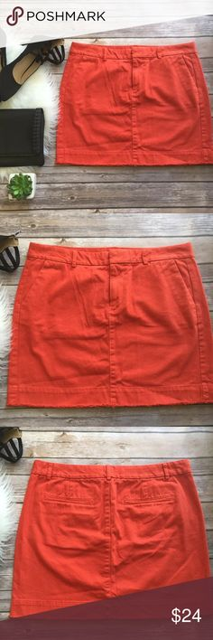 New ARRIVALS! Gap twill khaki mini skirt 8 Excellent used condition Skirts Pencil