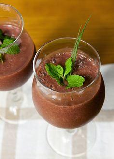 Cantinho Vegetariano: Smoothie de Açaí (vegana)