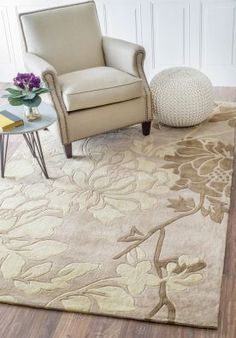 $5 Off when you share! Keno Bliss Beige Rug | Contemporary Rugs #RugsUSA