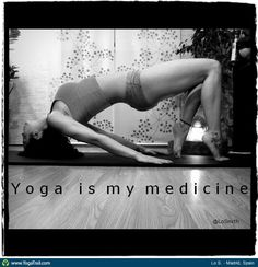 """Anywhere #Yoga Contest - win an iPhone 5: """"Lo S., Madrid, Spain"""""""