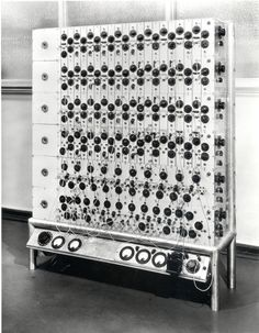 Eldo Koenig photocell analog computer, 1950