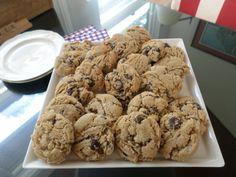 salted caramel chocolate chip cookies | angel food garden