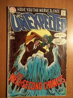 DC Comics - The Unexpected - #114 - Aug-Sept 1969