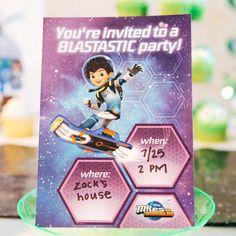 Miles from Tomorrowland Invitations | Disney Family