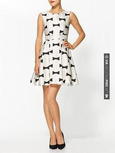 Neat - Kate Spade New York Marilyn Dress | CHECK OUT MORE GREAT BLACK AND WHITE WEDDING IDEAS AT WEDDINGPINS.NET | #weddings #wedding #blackandwhitewedding #blackandwhiteweddingphotos #events #forweddings #iloveweddings #blackandwhite #romance #vintage #blackwedding #planners #whitewedding #ceremonyphotos #weddingphotos #weddingpictures