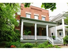 Property 4616 North Dover Street, Chicago, IL 60640 - MLS® #09251398 - Stately 1896 brick 2-flat on rare 50x150 lot, with 3-car garage. Premier block in Dover Street Landmark District. Richly deta