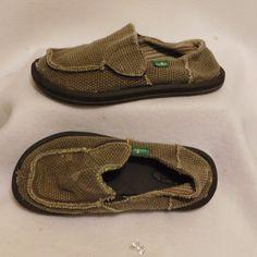 Sanuk KIDS' VAGABOND YOUTH KIDS BOYS Slip On Shoes - Size 13 - $36