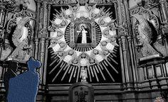 La #Virgen de la Paloma, la mas castiza de#Madrid