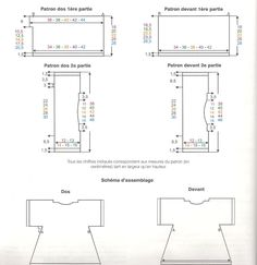 Da Phildar n 17, Phil Lin col Galet 3-4-4-5-5 gomitoli misure 3-6-12-18-24 mesi ferri 3,5 e 3 campione (gauge)22m (sts)x 30 ferri(rows)=10cm DIETRO SI LAVORA IN 2 PARTI(you work in 2 pieces) PRIM...