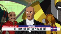 Live Breaking News, Going Bald, Lex Luthor, Man Of Steel, Animation Series, Glee, Best Friends, Family Guy, Kids