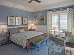 Coastal Artwork - Coastal-Inspired Bedrooms on HGTV