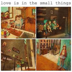Love is in the small things, it's true... - 9GAG