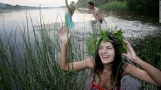 In many parts of the world there is no better time to work on your mojo than on the longest day of the year. In Belarus girls and boys take the opportunity to celebrate the midnight sun on Ivan Kupala Day by bathing in lakes. Salford City, Juneau Alaska, Kwanzaa, High Level, Memphis, San Diego, Midnight Sun, Ocean Photography, Days Of The Year