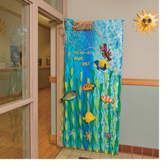 Under the Sea Door Decoration Idea - OrientalTrading.com