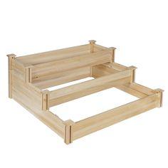 Cedar Raised Garden Bed Kit Cedar Raised Bed Garden Kits 3'x8 ...