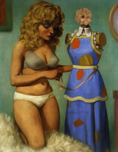 John Currin Very clever