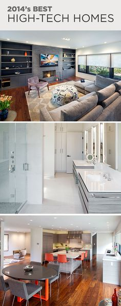 Explore more pin-worthy high-tech homes and vote for your favorite in the 2014 CEDIA Electronic Lifestyles People's Pick--> http://www.hgtvremodels.com/interiors/integrated-home-designs-from-cedia-2014-finalists-pt-1/pictures/index.html?soc=CD14