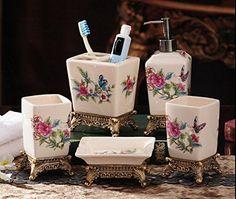 Fivebathroom set bathroom luxury ceramic Kit