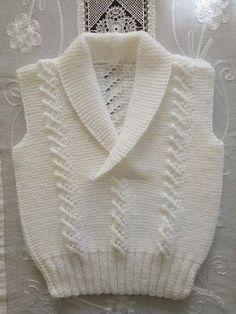 Baby Boy Crochet Blanket Pattern Kids 42 Ideas For 2019 Baby Boy Sweater, Baby Vest, Baby Sweaters, Knitting Patterns Boys, Knitting Designs, Baby Patterns, Baby Boy Crochet Blanket, Crochet Baby, Knit Crochet