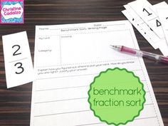 Teach Think Elementary: How to do a Fraction Sort (blog post)