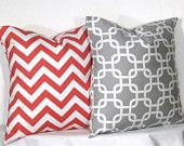 Great pillow colors and prints
