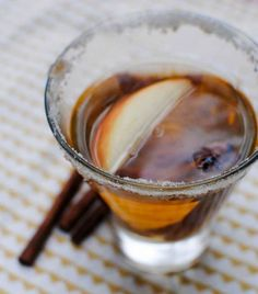 Spiced And Spiked Caramel Apple Cider Cocktail