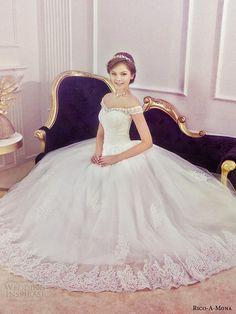 Rico-A-Mona Wedding Dresses — Shades of Romance Bridal Collection | Wedding Inspirasi