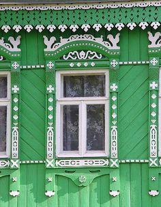 Русские наличники. Кружевная красота!. russian window
