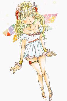 妖精ちゃん。美少女アニメ風に。  デジタル