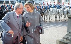 Queens & Princesses - King Willem Alexander and Queen Maxima arrived in Denmark for a three-day state visit. They were welcomed by the Danish royal family.