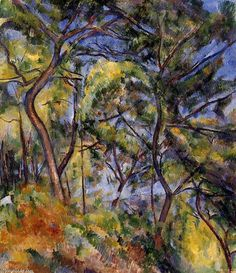 Paul Cezanne - Forest, 1894