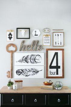 15 Easy Ways to Master the Modern Farmhouse Style Decor Trend via Brit + Co