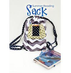 Tutorial: Fat quarter summer reading backpack