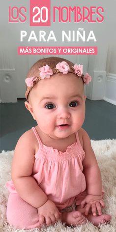 Estos 20 nombres para niña son los más bonitos y originales que se encuentran de moda Mexican Baby Names, Mexican Babies, Funny Babies, Cute Babies, Hispanic Babies, Hispanic Baby Names, Baby Girl Names Spanish, Book Bebe, Unique Girl Names