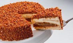 A Torta Crocante de Doce de Leite é fácil de fazer e fica simplesmente divina. Surpreenda os seus convidados com essa receita de dar água na boca! Veja Tam