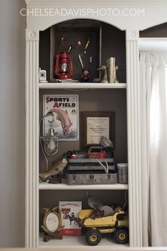 Fawn Over Baby: Vintage Hunting Nursery Designed By Ashley from This Country Fri. - Home Design Fawn Over Baby: Vintage Hunting Nursery Designed By Ashley from This Country Fri… Boys Fishing Bedroom, Fishing Nursery, Baby Boy Rooms, Baby Boy Nurseries, Kids Rooms, Baby Room, Boy Hunting Nursery, Boys Hunting Room, Nursery Inspiration