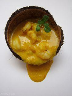Krevety v kokosovej omáčke