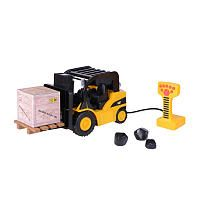 CAT Heavy Duty Fork Lift  Lights and Sounds with Remote Control